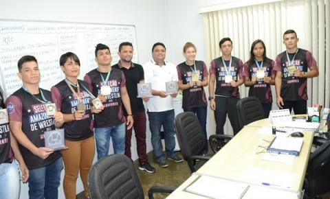 Atletas da Luta Olímpica chegam à Seleção Brasileira e agradecem Governo do Amazonas