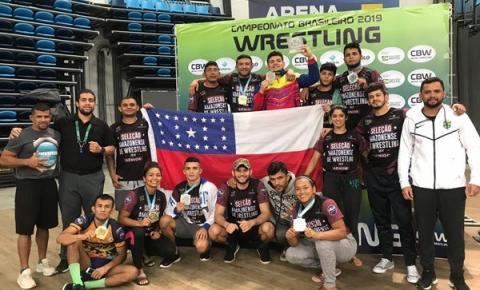 Luta Olímpica comemora vaga na Seleção Brasileira e Pan-Americano