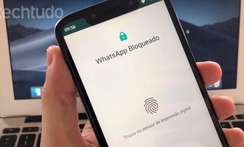 WhatsApp Beta agora permite desbloquear app com digital; saiba ativar