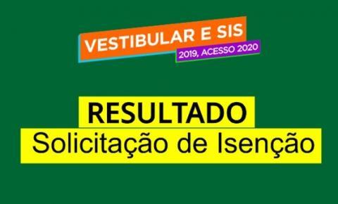 UEA divulga lista de isenção da taxa de inscrição do Vestibular e SIS 2019, acesso 2020