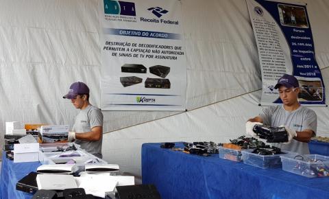 Novo portal da Anatel alerta para riscos de equipamentos piratas de TV por assinatura