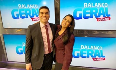 Clayton Pascarelli comanda telejornal Balanço Geral Especial na Record TV
