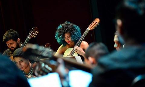 Trilhas sonoras de desenhos e animações serão apresentadas pela Orquestra de Violões do Amazonas