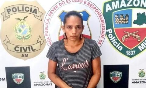 'IRMÃ DO CÃO': Mulher acusada de planejar homicídio do próprio irmão é presa no Amazonas