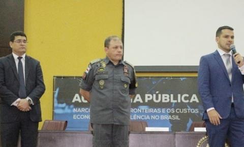 Após audiência pública que debateu o narcotráfico, Alberto Neto entregará relatório à ministro Sérgio Moro