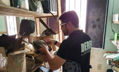 Quatro presos e cerca de 200 celulares suspeitos de roubo são recolhidos durante Operação Cruzada na zona norte