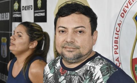 Ex-vereador de Presidente Figueiredo e esposa são presos por golpe de estelionato