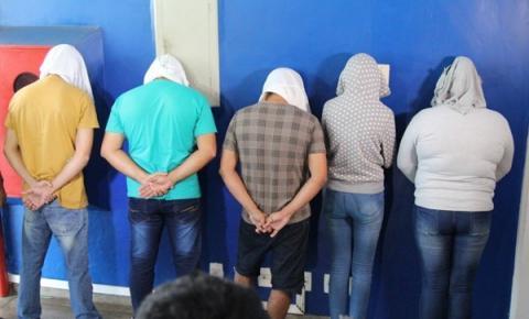 Grupo criminoso é preso acusado de aplicar golpe estimado em meio milhão de reais em Centro Universitário