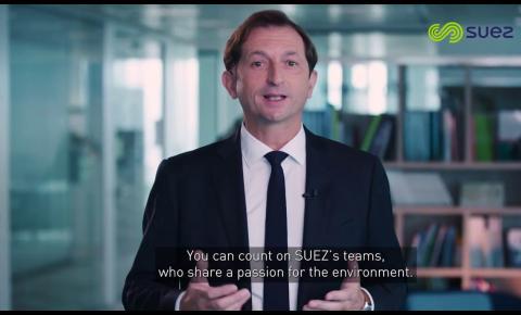 SUEZ lança estratégia para se tornar líder global em serviços ambientais