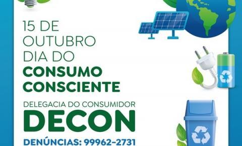 Em alusão ao dia do Consumo Consciente, Decon recomenda dez medidas para uma vida mais sustentável