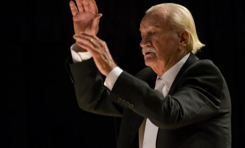 Concerto comemora 90 anos de Ernst Mahle e 65 anos da Caterpillar no Brasil