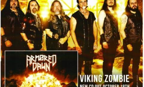 Armored Dawn, a banda brasileira que foi capa da maior revista da Alemanha, lança seu novo álbum