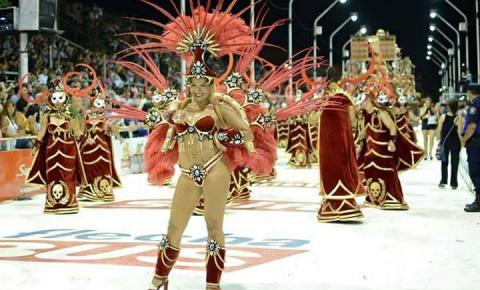 Modelo Argentina será Rainha da Império Serrano em Uruguaiana em 2020