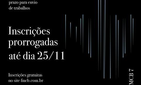 Inscrições para o Festival de Música Contemporânea Brasileira são prorrogadas