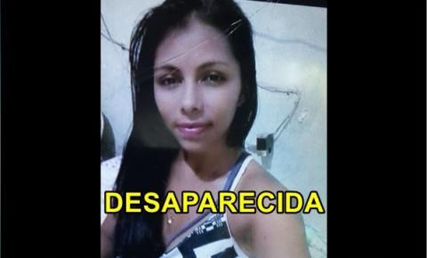 Família pede apoio da população para encontrar jovem desaparecida desde o dia 23/11