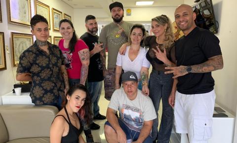 Driblando o Câncer recebe solidariedade da Stylo Tattoo