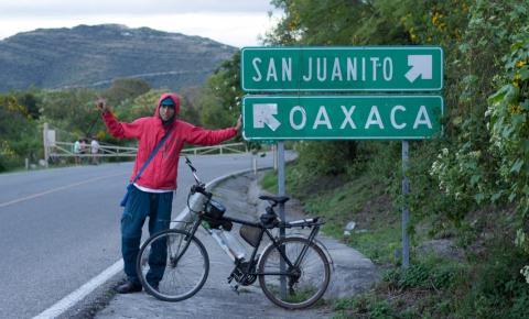 Ciclista pedala do Brasil ao México para promover a sustentabilidade e o turismo responsável