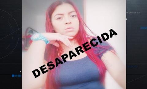 Mãe pede ajuda para localizar filha desaparecida desde o dia 28/11
