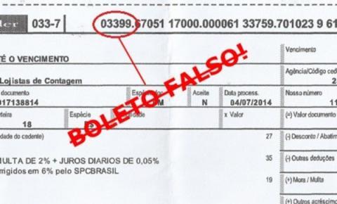 Polícia Civil alerta os consumidores sobre boletos bancários falsos