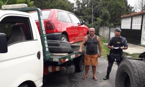 Polícia Militar, por meio da 4ª Cicom, recupera veículo roubado no Conjunto Castanheiras