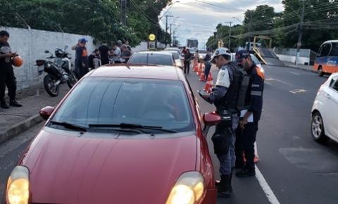 Operação Lei Seca autua mais de 20 motoristas embriagados em seis dias