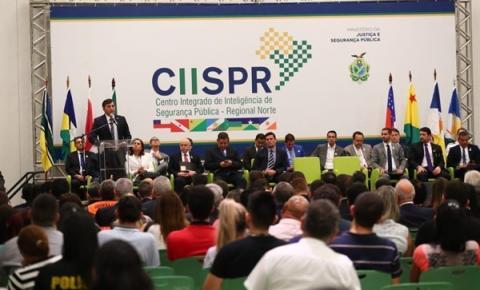 Alberto Neto acompanha de casa inauguração de Centro Integrado de Inteligência com ministro Sérgio Moro em Manaus