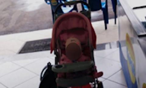 Criança de 9 meses é abandonada pela mãe em sorveteria, no Paraná