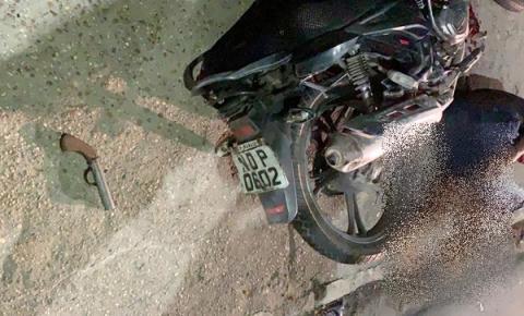 Motoqueiro que fazia arrastão no bairro Gilberto Mestrinho é preso após fugir de blitz do Detran-AM