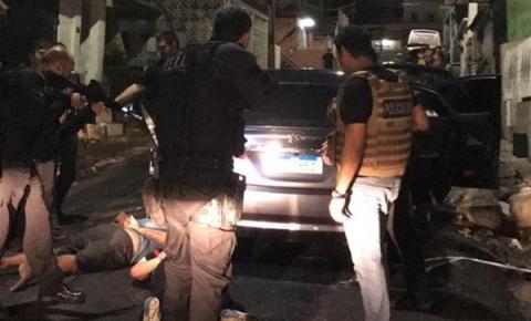 Polícia Civil deflagra operação na zona sul e prende quatro indivíduos