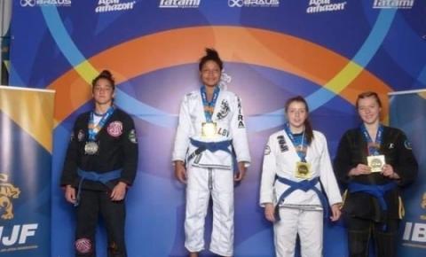 Brasileira que vendia trufas se torna campeã europeia de jiu-jitsu