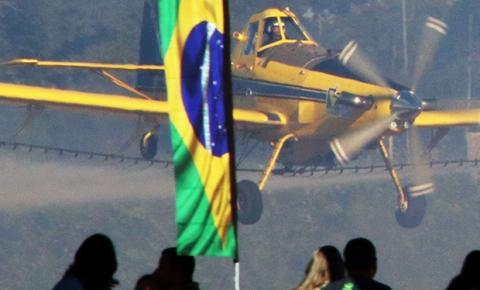 Cresce a importância do Brasil para fabricantes norte-americanos de aviões agrícolas