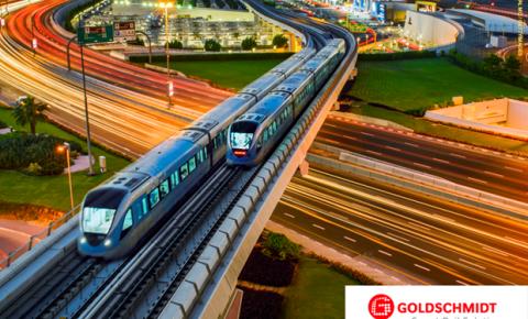Nova identidade: Goldschmidt combina serviços para a infraestrutura ferroviária internacional com sua nova marca