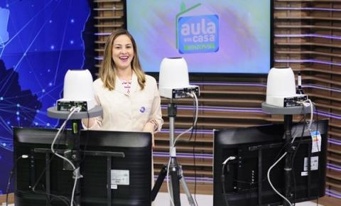 Secretaria de Educação disponibiliza questionários para que alunos pratiquem o conteúdo do 'Aula em Casa'