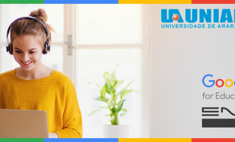 UNIARA aplica metodologias ativas usando plataforma Google for Education e transforma ensino presencial em Online ao vivo, durante pandemia do COVID-19