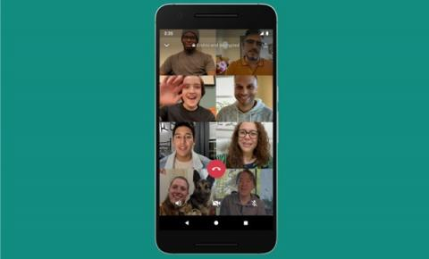 WhatsApp: como fazer chamada de vídeo com oito pessoas