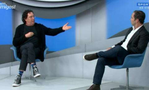 Vídeo: Casagrande discute com Caio Ribeiro ao vivo no SporTV