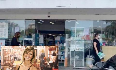 Atriz da Globo afirma ter sido acusada de roubo em farmácia. Veja vídeo