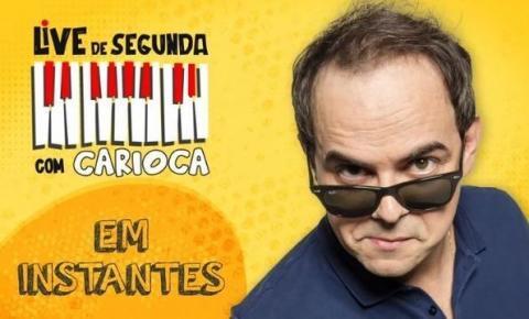 Veja os 6 melhores momentos das lives do Carioca