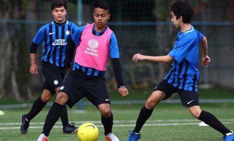 Inter Academy Brazil, escola oficial da Inter de Milão, procura parceiros no país