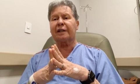 Arthur Neto posta vídeo em redes sociais, após ser diagnosticado com Covid-19