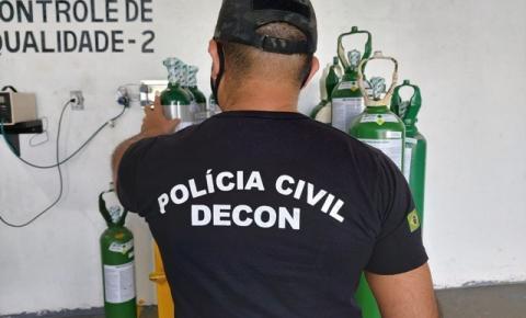 Delegacia Especializada em Crimes Contra o Consumidor deflagra operação 'Flashback' em empresa do Polo Industrial de Manaus