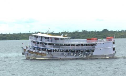 Transporte fluvial deve retornar a partir de 16 de julho