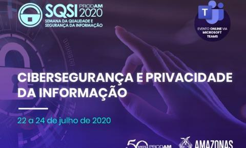 Cibersegurança e privacidade de dados são tema de evento on-line e gratuito realizado pela Prodam