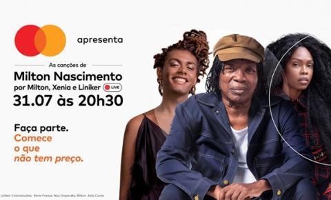 Milton Nascimento canta seus sucessos com Liniker e Xenia França em iniciativa da Mastercard para combater a fome