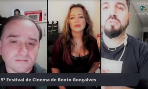 Atriz internacional Cris Lopes é convidada especial em live do Festival de Cinema de Bento Gonçalves sobre momento atual do audiovisual durante a pandemia