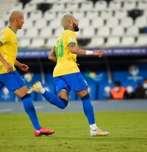 Neymar marca, Brasil goleia Peru e segue líder do Grupo B na Copa América; veja os gols