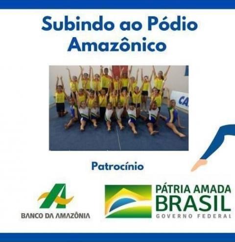 Projeto de ginástica artística 'Subindo ao Pódio Amazônico' se fortalece com apoio do Banco da Amazônia