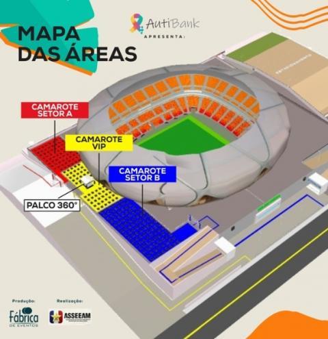 Vacinação em dia garantirá passaporte para evento teste na Arena da Amazônia