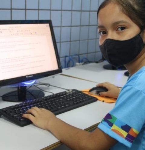 Aluna de escola da zona rural de Manaus é classificada para segunda fase da Olimpíada Brasileira de Informática