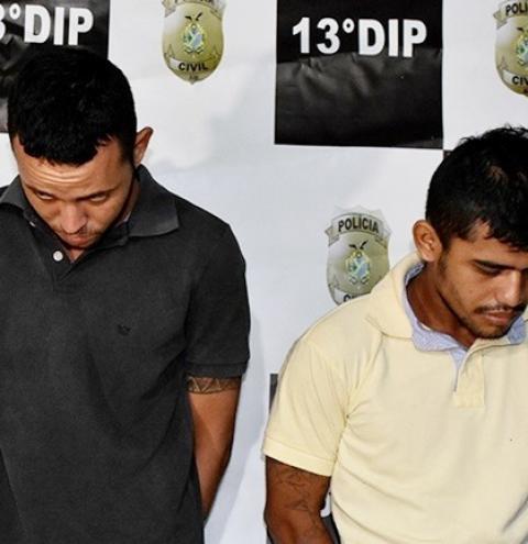 Polícia Civil prende dupla com drogas, arma e munições, na zona norte
